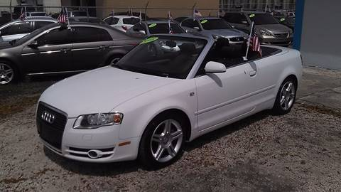 2008 Audi A4 for sale at IRON CARS in Hollywood FL