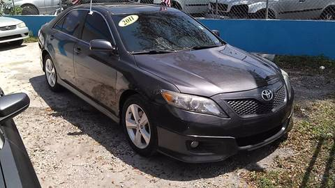 2011 Toyota Camry for sale at IRON CARS in Hollywood FL