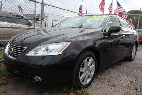 2007 Lexus ES 350 for sale at IRON CARS in Hollywood FL