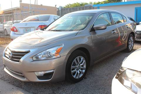2015 Nissan Altima for sale at IRON CARS in Hollywood FL