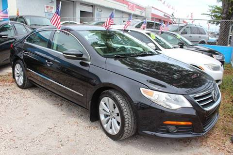 2010 Volkswagen CC for sale at IRON CARS in Hollywood FL
