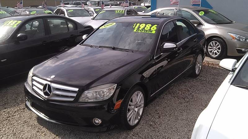 2009 mercedes benz c class c300 luxury 4dr sedan in for Mercedes benz hollywood