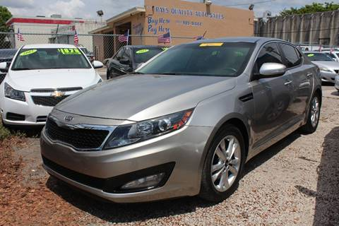 2011 Kia Optima for sale at IRON CARS in Hollywood FL