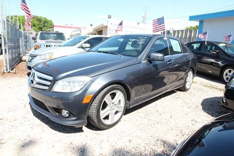 2010 Mercedes-Benz C-Class for sale at IRON CARS in Hollywood FL