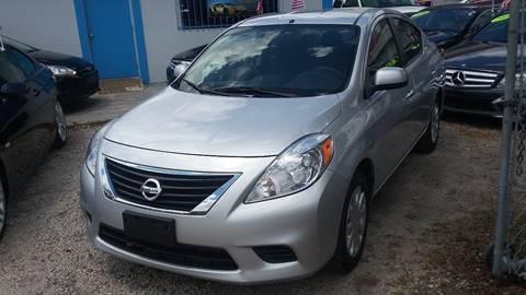 2012 Nissan Versa for sale at IRON CARS in Hollywood FL