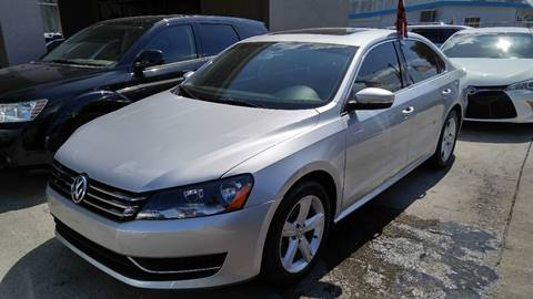 2013 Volkswagen Passat for sale at IRON CARS in Hollywood FL
