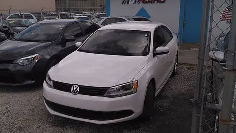 2012 Volkswagen Jetta for sale at IRON CARS in Hollywood FL
