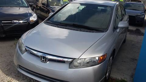 2007 Honda Civic for sale at IRON CARS in Hollywood FL