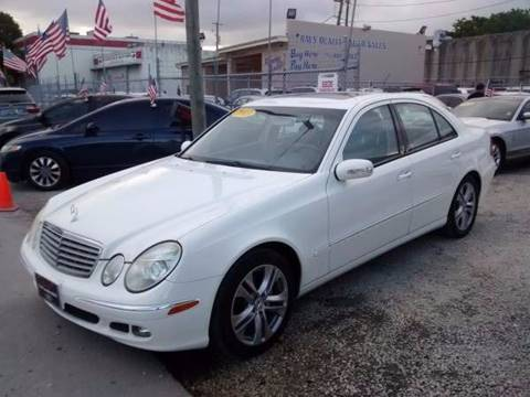 2003 Mercedes-Benz E-Class for sale at IRON CARS in Hollywood FL