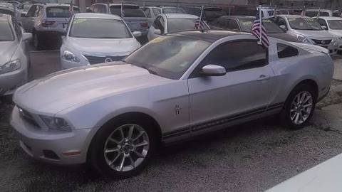 2010 Ford Mustang for sale at IRON CARS in Hollywood FL