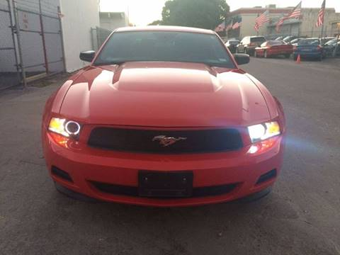 2012 Ford Mustang for sale at IRON CARS in Hollywood FL