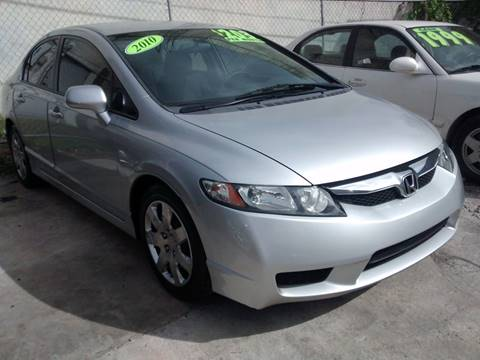 2010 Honda Civic for sale at IRON CARS in Hollywood FL