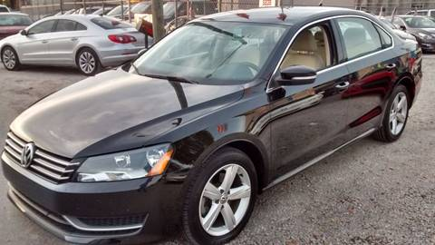 2012 Volkswagen Passat for sale at IRON CARS in Hollywood FL