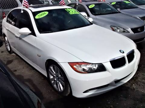 2006 BMW 3 Series for sale at IRON CARS in Hollywood FL