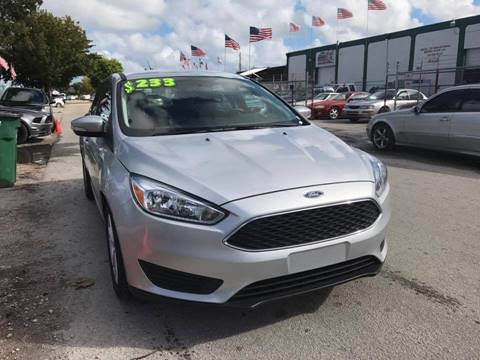 2015 Ford Focus for sale at IRON CARS in Hollywood FL