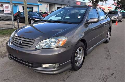 2003 Toyota Corolla for sale at IRON CARS in Hollywood FL