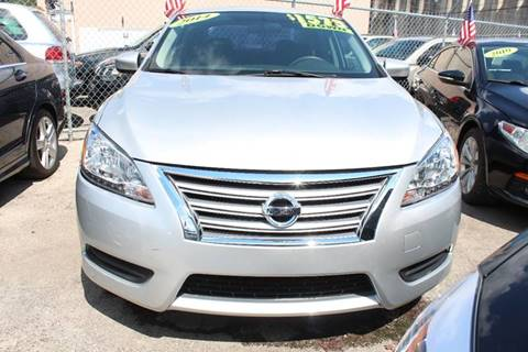 2014 Nissan Sentra for sale at IRON CARS in Hollywood FL