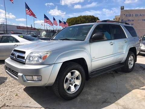 2005 Toyota 4Runner for sale at IRON CARS in Hollywood FL