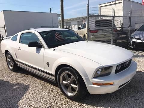 2006 Ford Mustang for sale at IRON CARS in Hollywood FL