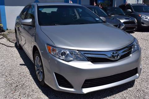 2013 Toyota Camry for sale at IRON CARS in Hollywood FL