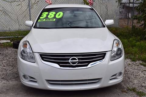 2011 Nissan Altima for sale at IRON CARS in Hollywood FL