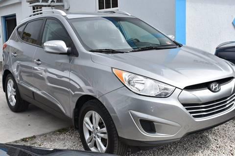 2012 Hyundai Tucson for sale at IRON CARS in Hollywood FL