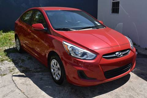 2015 Hyundai Accent for sale at IRON CARS in Hollywood FL