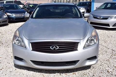2008 Infiniti G37 for sale at IRON CARS in Hollywood FL