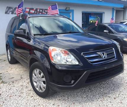 2005 Honda CR-V for sale at IRON CARS in Hollywood FL
