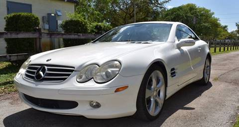 2006 Mercedes-Benz SL-Class for sale at IRON CARS in Hollywood FL