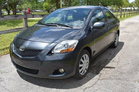 2010 Toyota Yaris for sale at IRON CARS in Hollywood FL