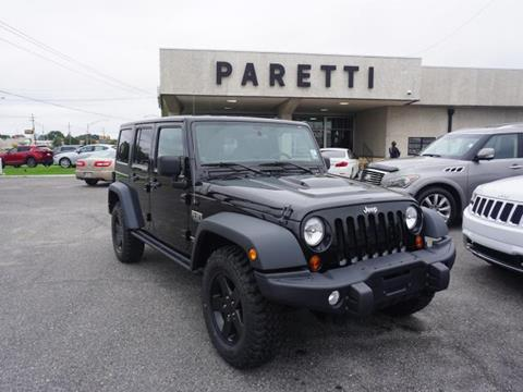 2012 Jeep Wrangler Unlimited for sale in Metairie, LA
