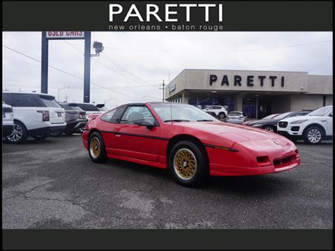 1988 Pontiac Fiero for sale in Metairie, LA