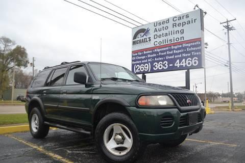 High Quality 2000 Mitsubishi Montero Sport For Sale In Benton Harbor, MI
