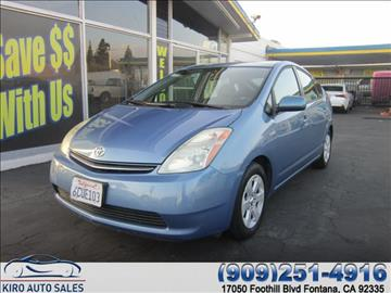 2008 Toyota Prius for sale in Fontana, CA