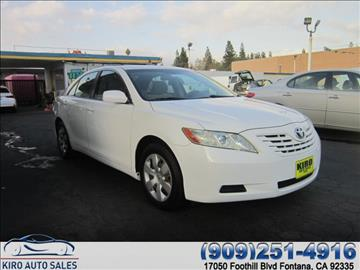 2007 Toyota Camry for sale in Fontana, CA