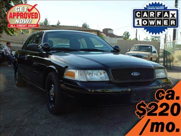2008 Ford Crown Victoria for sale in Yorba Linda, CA