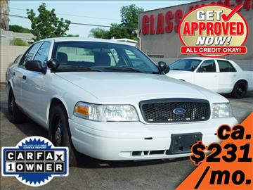 2009 Ford Crown Victoria for sale in Yorba Linda, CA