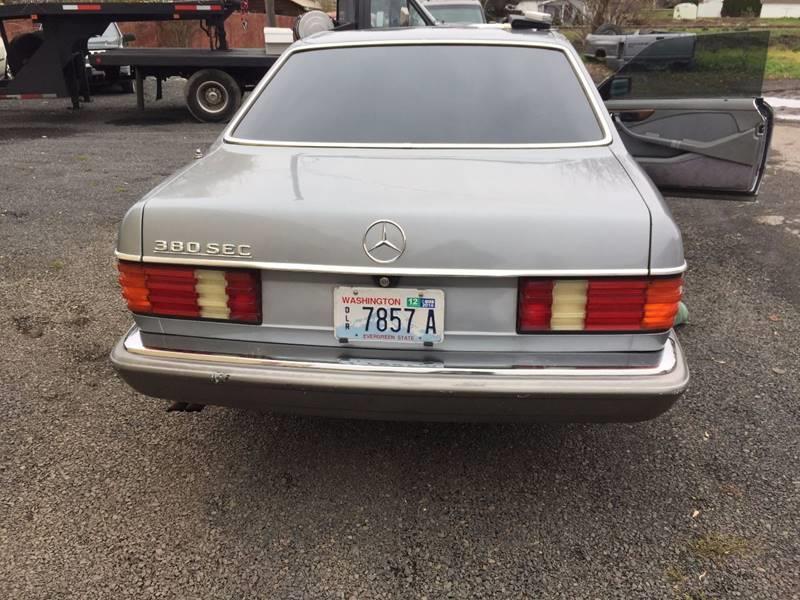 1983 Mercedes-Benz 380-Class 5