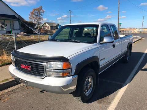 2000 GMC Sierra 2500 for sale in Spangle, WA