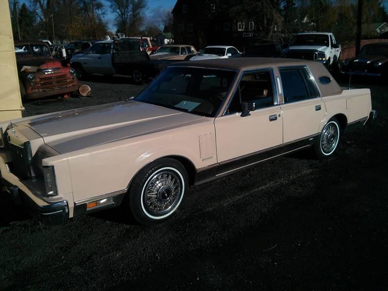 1981 Lincoln Mark Vi In Spangle Wa Retro Classic Auto Sales