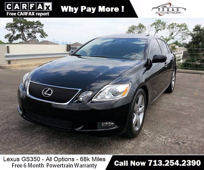 2007 Lexus GS 350 For Sale At Texas Auto Network In Houston TX