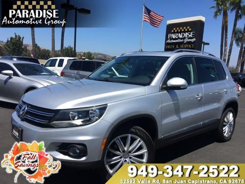2015 Volkswagen Tiguan for sale in San Juan Capistrano, CA