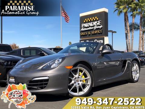 2013 Porsche Boxster for sale in San Juan Capistrano, CA