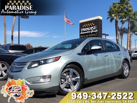 2012 Chevrolet Volt for sale in San Juan Capistrano, CA