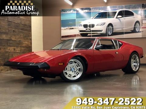1974 De Tomaso Pantera for sale in San Juan Capistrano, CA