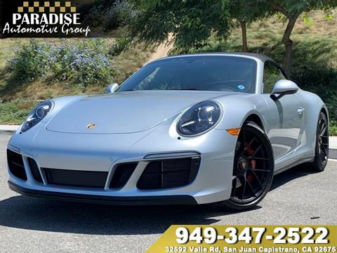 2018 Porsche 911 for sale in San Juan Capistrano, CA