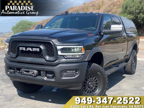2019 RAM Ram Pickup 2500 for sale in San Juan Capistrano, CA