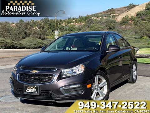 2016 Chevrolet Cruze Limited for sale in San Juan Capistrano, CA