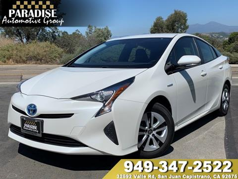2016 Toyota Prius for sale in San Juan Capistrano, CA